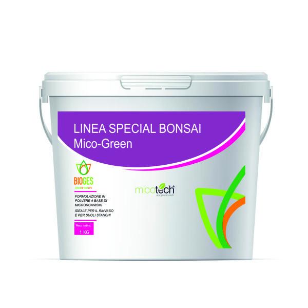 micorrize in polvere ideale per il bonsai
