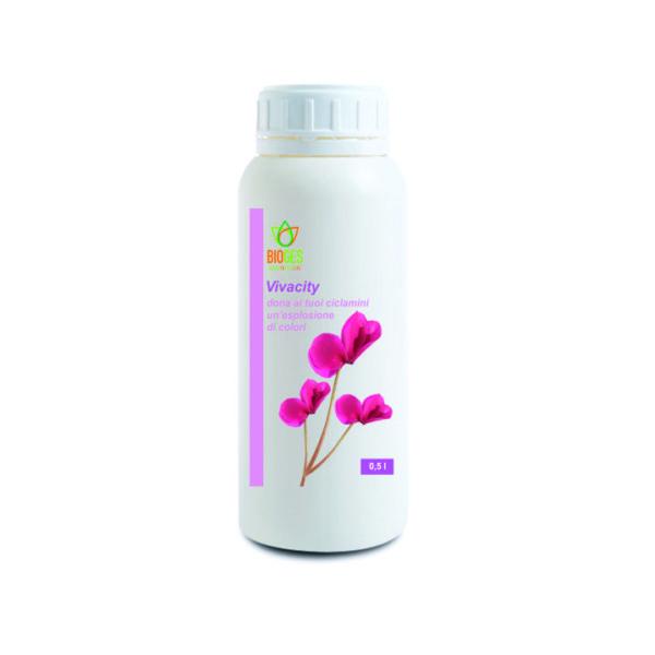 Concime NPK liquido ideale per i ciclamini, camelie, azalee ed altre acidofile